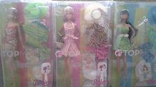 Barbie Top Model Resort Barbie, Summer, Teresa 3 Doll Lot NRFB 3 Giftsets NEW