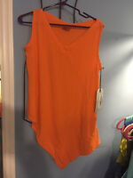 NWT Oh My Gauze Allie Top Size 1 Lagenlook w/ Pocket Tunic Sleeveless(4 colors)