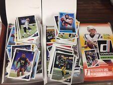 Lot Of (40) Randomly Assorted 2018 Donruss Football Base/insert Cards