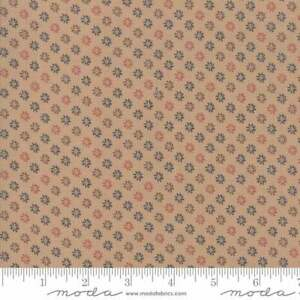 Shelbyville Fabric by Jo Morton #38077-13 Tan Floral Quilt Shop Quality