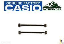CASIO Pathfinder PAW-1500Y Gun Metal Watch Band Screw Male/Female Set 2 PRG-130Y