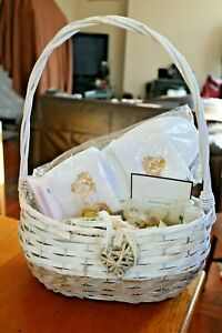 Pamper Hamper Gift Wicker Basket Birthday Anniversary Christmas Xmas Lotions