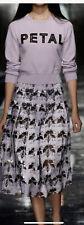 *SPECIAL* CHRISTOPHER KANE Designer Laser Cut Skirt Uk Size8