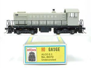 HO Scale Atlas 8070 Undecorated ALCO S2 Diesel Locomotive