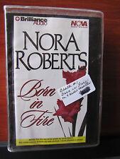 Born In Fire-Concannon Sisters Trilogy-Nora Roberts 2000 Cassette-Abridged 6 Hrs