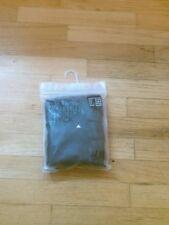 Nwt H & M mens cotton stretch briefs black 3 pk  XL