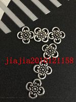 PJ398  30pc Retro Tibetan Silver flowers Jewelry Accessories wholesale