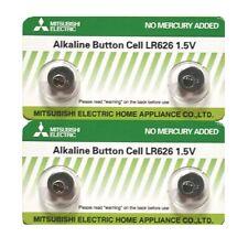 Mitsubishi LR626 AG4 SR626SW 177 GP77A 377 Button Alkaline Battery (4 Pieces)