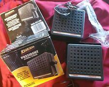 """(4) Diesel President 4"""" 12 Watt Max Heavy Duty External CB  2-Way Radio Speakers"""