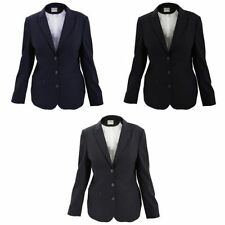 Wool Blend Business Suit Jackets for Women