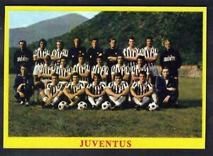 RARA FIGURINA CALCIATORI CALCIO SQUADRE BAGGIOLI ? 1975 JUVENTUS