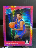 Jerome Robinson 2018-19 Optic Rated Rookie Hyper Pink Prizm Card #152