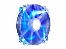 CoolerMaster MegaFlow Mega Flow 200mm 20cm Blue LED Case Fan - 110 CFM - 19 dBA
