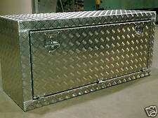 Aluminium storage box motorhome campervan alloy trunk