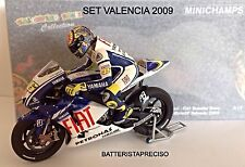 MINICHAMPS VALENTINO ROSSI 1/12 SET GP VALENCIA 2009 WORLD CHAMPION 122093076