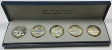 1970 ISRAEL PIDYON HABEN 5 10 LIROT COINS SET BOX/PAPERS CERTIFICATE