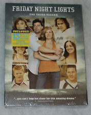 Friday Night Lights Stagione 3 Tre DVD Cofanetto NUOVO SIGILLATO