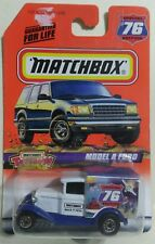 1998 Special Edition#76 Matchbox Model A Ford Make It Real 1/64 Diecast Truck