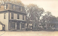 Alfred ME Main Street H. R. Fernald Store Front RPPC Postcard
