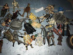Star Wars Action Figure Lot Loose Mixed Bundle