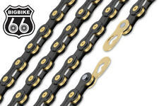 ConneX 11SB 11-Speed Black & Gold Road / MTB Bike Chain fits SRAM Shimano Campy