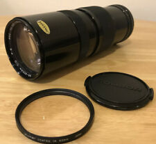 Soligor 85-300mm F:5 Zoom Macro Camera Lens w/ Filter And Case Great Condition