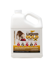 SBK'S LIQUID GOLD PRO HIGH CALORIE SUPPLEMENT FOR CANINES & FELINES