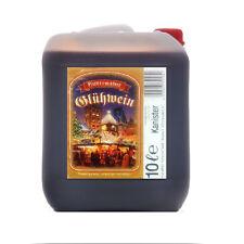 Glühwein Hüttenglut 10 Liter Kanister 8,7% vol. trinkfertig Weihnachtsmarkt