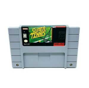 Super Tennis (Super Nintendo Entertainment System) SNES Authentic Tested