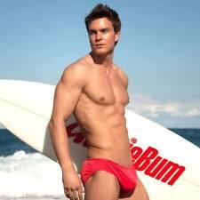 Aussiebum Swim Brief Men's Surf Guy/Gay Swimwear Sexy Red Size S M L XL