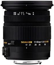 Sigma 17-50 mm / 2,8 EX DC OS HSM  Objektiv für Canon EOS Demo-Ware