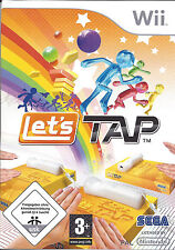 LET'S TAP for Nintendo Wii - with box & manual - PAL