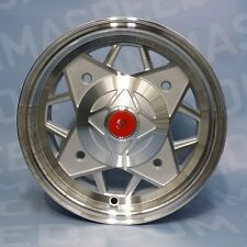 "Set 4 Cerchi in lega per Fiat 500 d'epoca Abarth da 12"" 4x190 500 OLD 574 SP"