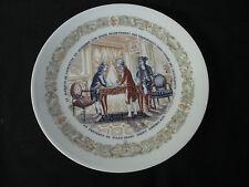 """Agent Americain, D'Arceau-Limoges # 070 Collectors Plate, 8.5"""""""