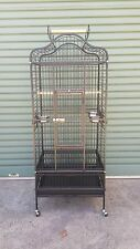 Open Top Parrot Penthouse Cage Black cocky galah parrot cage alexandrine