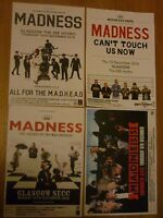 Madness - Collection of Scottish tour live music show concert gig posters x 4