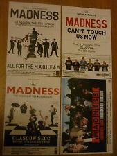 Madness - Scottish tour concert gig posters x 4