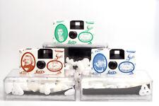Kamera Set Fuji Quicksnap / Einwegkameras Club Daguerre 184/200 mit 3 Boxen