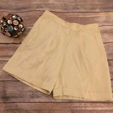 Tommy Bahama Womens Silk Pleated Dress Shorts Size 4