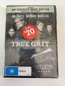True Grit - Exclusive Bonus Disc - Special Edition 3D Cover DVD R4