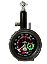 Motamec Motorsport Tyre Pressure Gauge Tread Depth Gauge Analogue Dial 0-80 psi