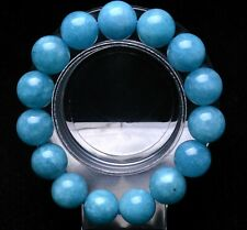 Rough Bracelet Beads Healing 14mm Natural Blue Aquamarine Crystal