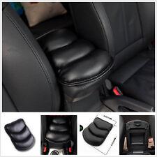 Black Car SUV Armrest Arm Rest Console Cover Seat Box Pad PU Mat For Modern KIA