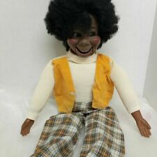"""Eegee Co 1973 27"""" Ventriloquist Lester Doll-Mouth Works!"""