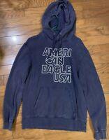 American Eagle Sweatshirt Hoodie, Navy