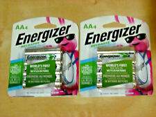 ENERGIZER AA RECHARGEABLE BATTERIES ( 8 Pieces, 2 Pack *NEW release)