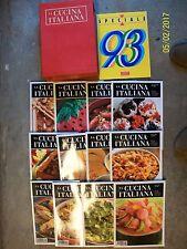 LA CUCINA ITALIANA=ANNATA COMPLETA 1995=PIU' SPECIALE=CON RACCOGLITORE ORIGINALE