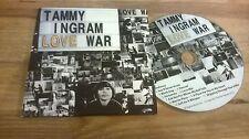 CD Indie Tammy Ingram War - Love (11 Song) SOLARIS EMPIRE cb