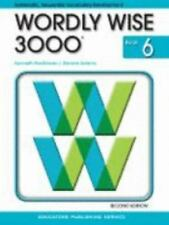 Wordly Wise 3000 Grade 6, 2nd Edition NEW Homeschool Vocabulary SAT Prep English