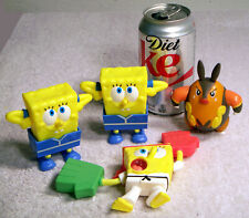 3 Bob the Squarepants and a Bird Lot of Toys